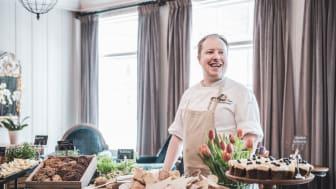Kjøkkensjefen på Fretheim Hotel, Bjarte Finne, deler villig av engasjementet sitt