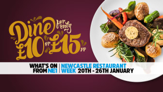 NE1 Newcastle Restaurant Week – 20-26 January
