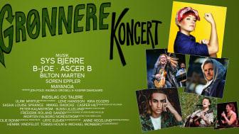 Grønnere Koncert 2019, plakat 2
