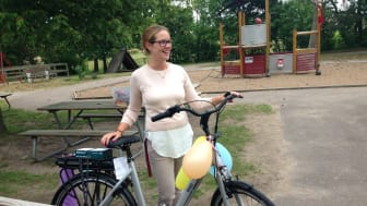Ida Sernert från Ängelholm är en av vinnarna.  Foto: Annica Owesson