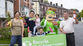 Recycling. We do. Because it matters.
