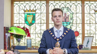 Mayor of Mid and East Antrim, Councillor Peter Johnston