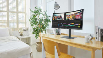 [Photo] Samsung Launches New High-Resolution 2021 Monitor Lineup 4