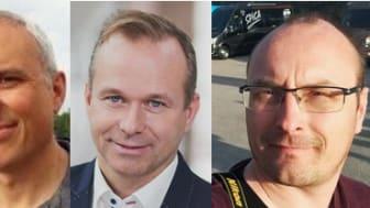 F.v: Jon Stenslet, Glenn-Ivar Gaalaas, Jan Helge Kupen, Henning Berthelsen og Tom Terjesen.