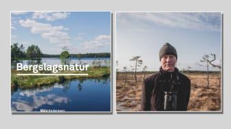 Omslag till boken och författaren Mats Andersson. Foto: Foto: Karin Andersson