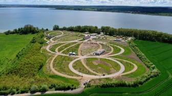 Schon bald soll der neue Campingplatz am Unteruckersee in Betrieb gehen. Foto: Campingplatz Sonnenkap.