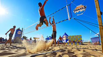 Action på Tylösand - det är SummerSmash! Foto: Beachtravels.