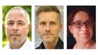 Magnus Storm (C) är ordförande i Tillväxtnämnden; Magnus Sjöberg är chef för Tillväxtförvaltningen; Kristina Öster är chef för Kultur- och fritidsenheten