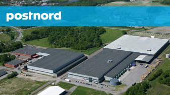Händelö-anläggningen i Norrköping där e-handelslagret kommer att ligga. Foto: PostNord