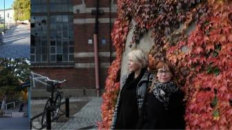 Emma Pihl och Åsa Samuelsson, Nyréns Arkitektkontor utvecklar jämställda offentliga miljöer i samarbete med Malmö stad och forskare från Lunds universitet och Malmö Högskola.