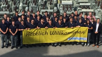 Ausbildungsstart beim Bayernwerk. In diesem Jahr beginnen verteilt auf das gesamte Netzgebiet 89 Jugendliche ihr Berufsleben.