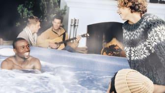 Spabad med Jacuzzi® i vinter