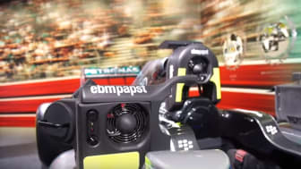 "ebm-papst TV ""Cooling solutions for the 2015 F1™ World Champions"""