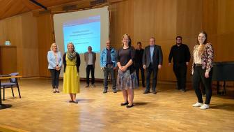 Mitglieder des Marketing-Ausschusses mit der neuen Vorsitzenden Marlies Bahrenberg