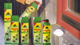 Bekämpa krypande/flygande insekter!