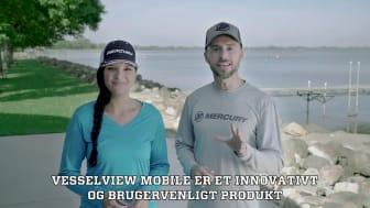 Vesselview Mobile inkl. i Mercury bådmotor