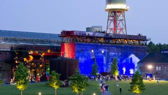 Die Jahrhunderthalle Bochum während der Extraschicht © RTG, Nielinger