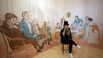 """Mendelssohn-Haus: Ausstellung """"Und wo ist Fanny?"""" - Tableau Vivant"""