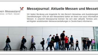 Dein Messestand stellt neues Messejournal vor