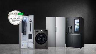 LG Electronics Inc. får den højeste bæredygtighedsvurdering fra EcoVadis