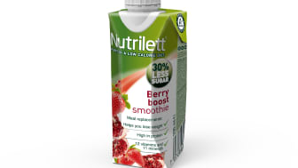 Nutrilett Berry boost Less sugar smoothie