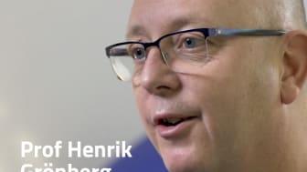 Professor Henrik Grönberg, initiativtagare till Stockholm3, ett blodtest som kombinerar analys av biomarkörer med kliniska data för att avsevärt förbättra diagnostiken av prostatacancer.