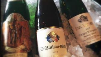 Exempel på vad som kan serveras i baren på Riesling-Onsdagarna