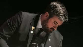 Francesco Marzola er ein av landets dyktigaste vinkelnarar