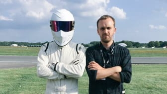 Tom Gent with The Stig
