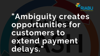 Ambiguity leads to late payment