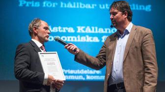 Priset kommer att delas ut i samband med Lidköpingsgalan i Sparbanken Lidköping Arena den 11 november.