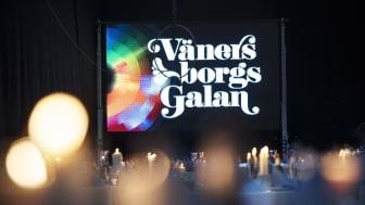 Vänersborgsgalan skjuts upp till våren 2022. Fotograf: Jerry Lövberg.