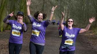 Cheshire runners raise over £12,000 for the Stroke Association