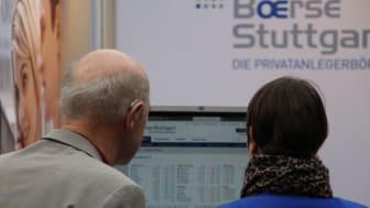 Beratungsgespräch beim Börsentag kompakt Stuttgart