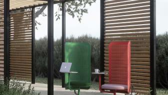 Work Lounge, design Superlab och Charlotte Petersson Troije. Nyhet Nola 2021.