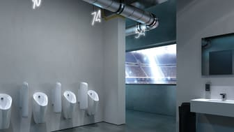 Flexibilitet är vad som utmärker Geberit urinalsystem – en perfekt lösning för alla byggnadsprojekt.