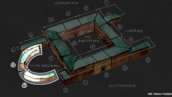 M3 Bygg AB får fortsatt förtroende att restaurera fasaderna på Stockholms Slott