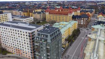 Tegnérs torn i Vasastaden. Foto: Peter Lydén