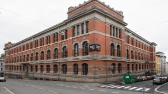 Edvard Munch videregående skole er en av Undervisningsbyggs to skoler som er nominert til Oslo bys arkitekturpris