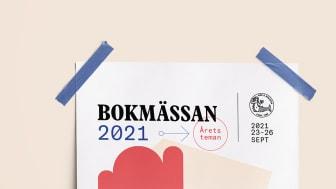 Tre teman på Bokmässan 2021