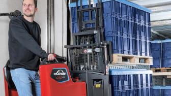 Linde Material Handling lanserar kompakta precisionsmästare