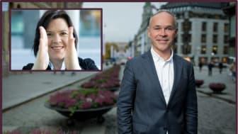 Finansminister Jan Tore Sanner og sjeføkonom i Sparebank 1 Elisabeth Holvik, vil gi oss de økonomiske utsiktene for 2021.