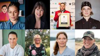 Sandra Mastio, Karoline Nordefors, Frida Nilsson, Titti Qvarnström, Isabella Morrone, Lotta Bonthelius, Sofia B Olsson, Charlotta Ranert.