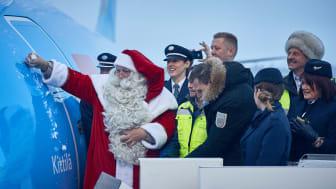 """TUIn uusin Boeing 737 MAX 8 sai nimekseen """"Kittilä"""""""