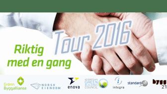 Riktig med en gang Tour avsluttes på Norges Varemesse i Lillestrøm - 2. juni