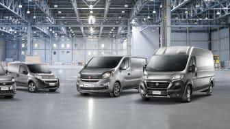 Ny fleksibel korttidsleje af varebiler hos Fiat Professional-forhandlere