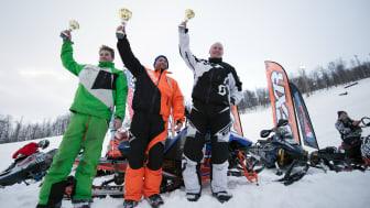 Hemavan Hillclimb 2016 segrare klass 1 Turbo