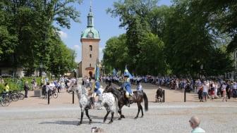 Ett vanligt år firas Sveriges nationaldag på flera ställen runt om i kommunen, i år blir det istället ett digitalt firande.