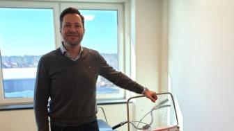 Magnus Trillkott, ny teamchef för tekniskt kundansvariga
