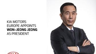 """Som ny præsident for KIA Motors Europe skal Jeong være spydspids for KIAs """"Plan S"""", som fokuserer på elbiler og tilpassede mobilitetsløsninger."""